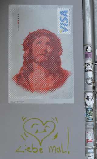 OSTAP street art berlin kastanienallee prenzlberg