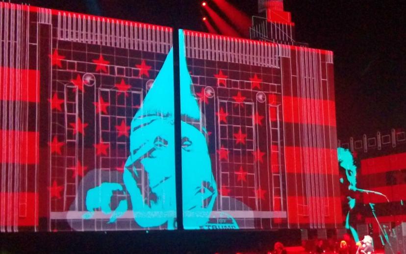KKK Trump at Roger Waters be kitschig blog berlin