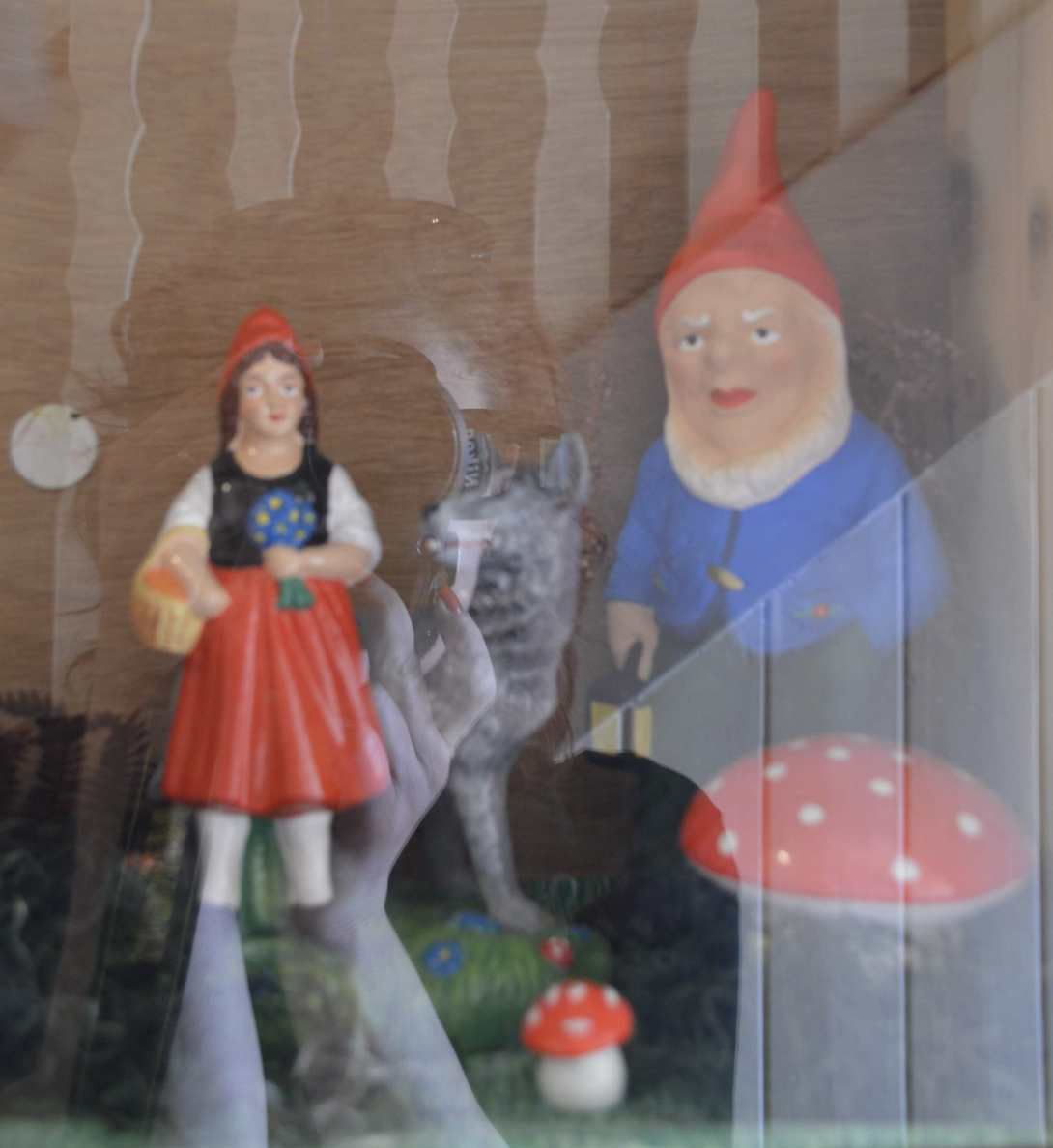 garden gnome museum in thuringia Germany birthplace of the gnome A collection of involuntary self portraits