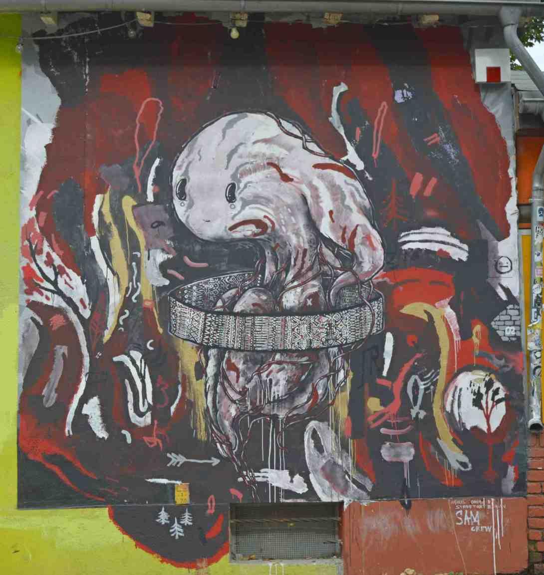 #berlin #streetart #mauerpark #samcrew