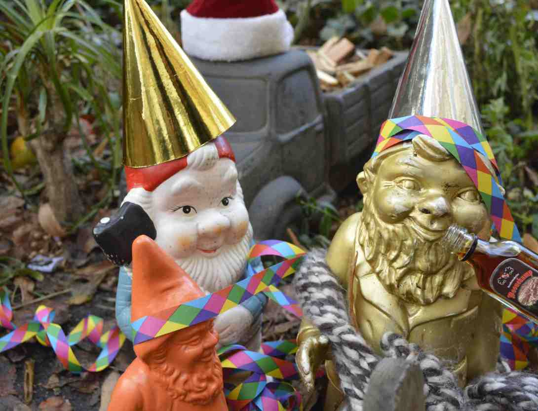 New Years with the gnomes from berlin Heinrich Paul Joost be ktischig blog