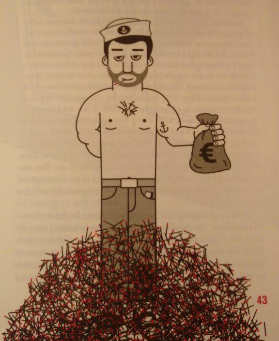 How to be German Adam Fletcher be kitschig blog Robert M.   Schöne Illustrator