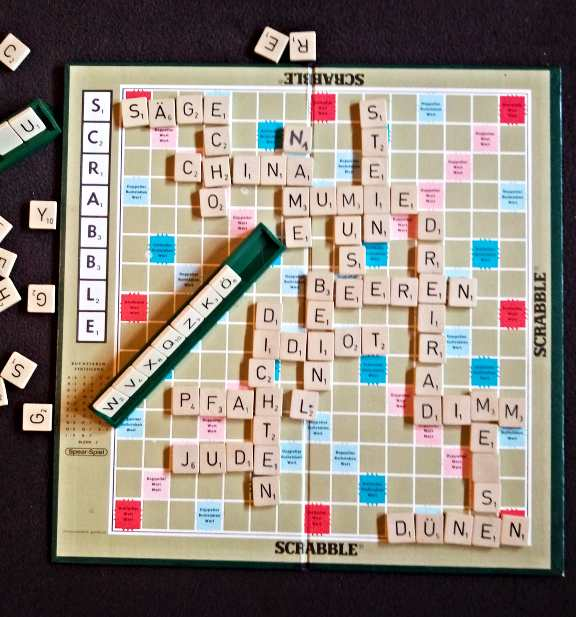 No really Scrabble is no fun