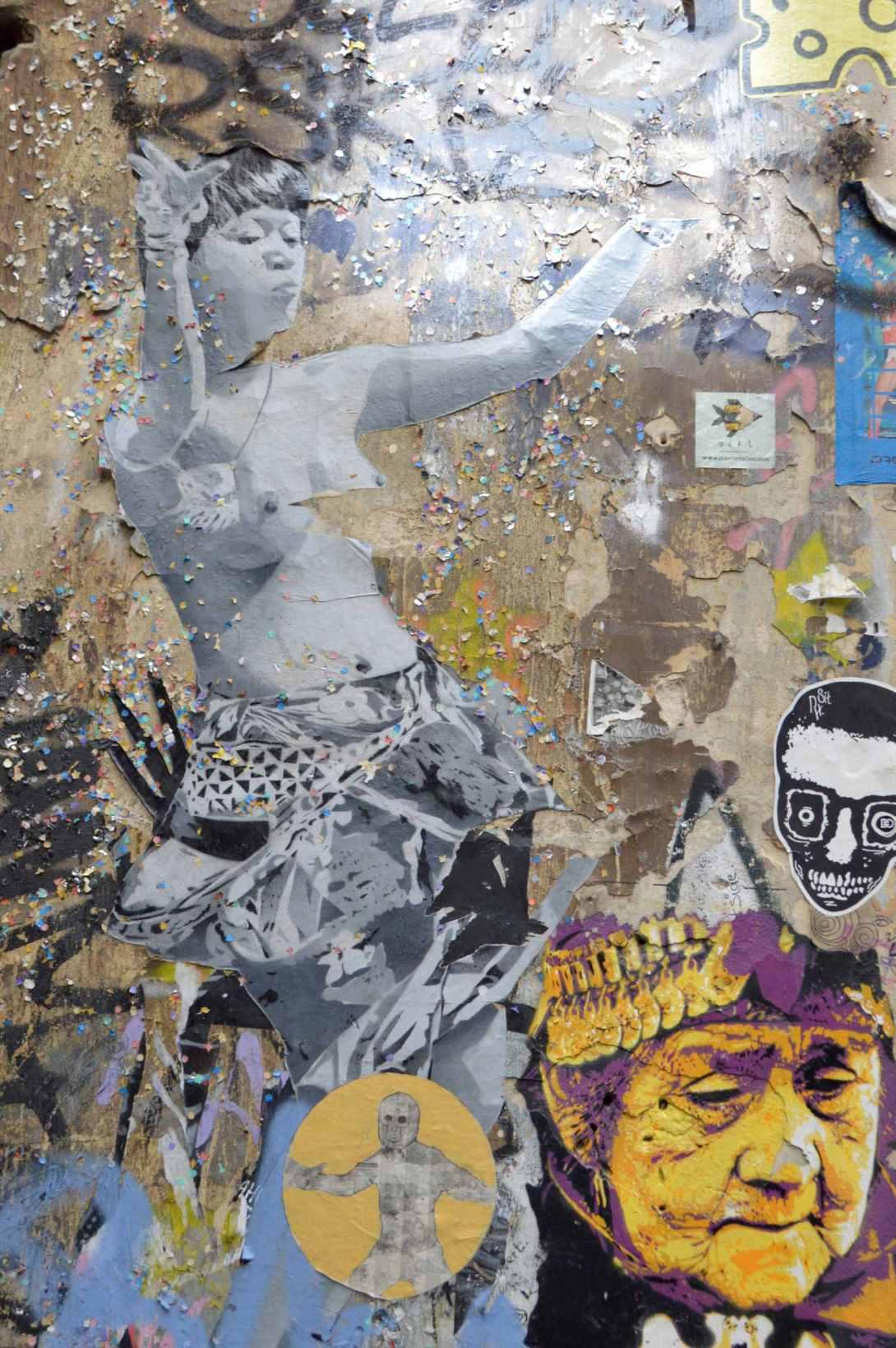 SOBR street art alley hackescher markt berlin