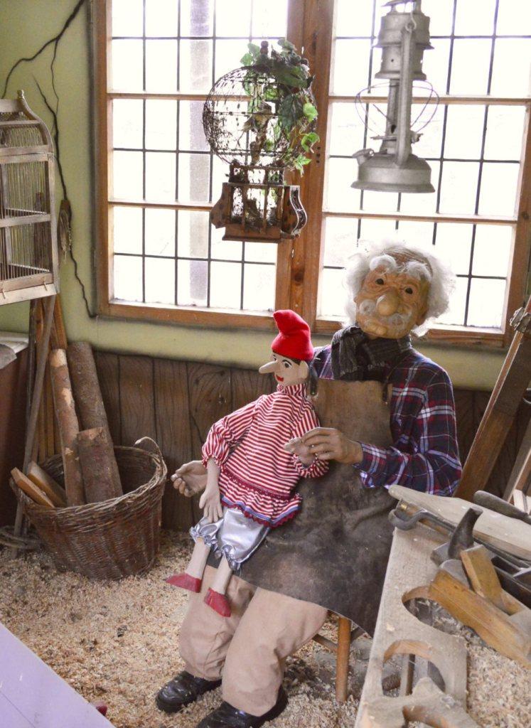 Märchenwald Saalburg Pinocchio