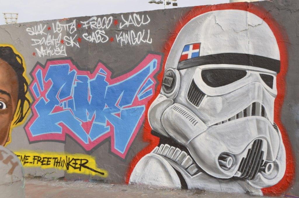 street art graffiti Berlin Mauerpark be kitschig blog  caribbean vandals