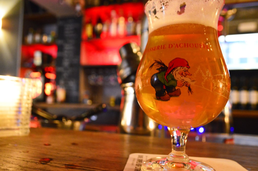 La Chouffe Belgian Beer made by garden gnome Marcel be kitschig blog