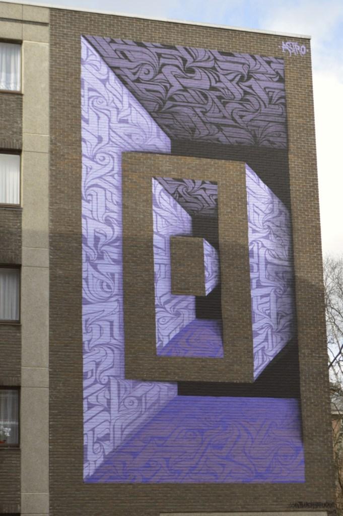 #mural by astro Astrograff Belgium be kitschig blog Berlin