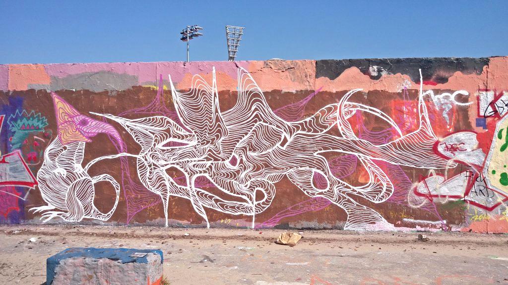 Postcards from Berlin #17 Berlin Mauerpark graffiti be kitschig blog