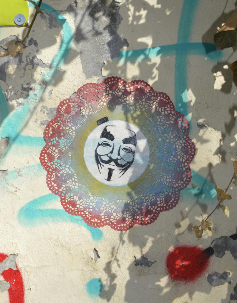 oxo paste up Mauerpark #streetart be kitschig blog Berlin