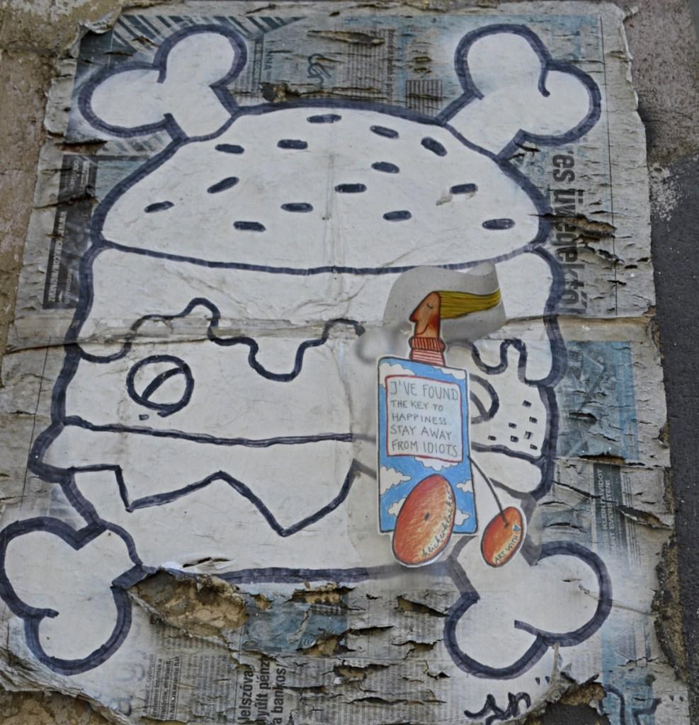 Postcards from Berlin #17 #streetart paste up klickerklacker be kitschig blog Berlin