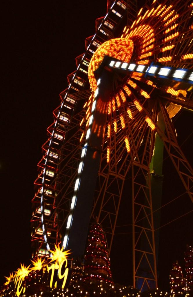 Riesenrad weihnachtsmarkt Berlin Alexanderplatz
