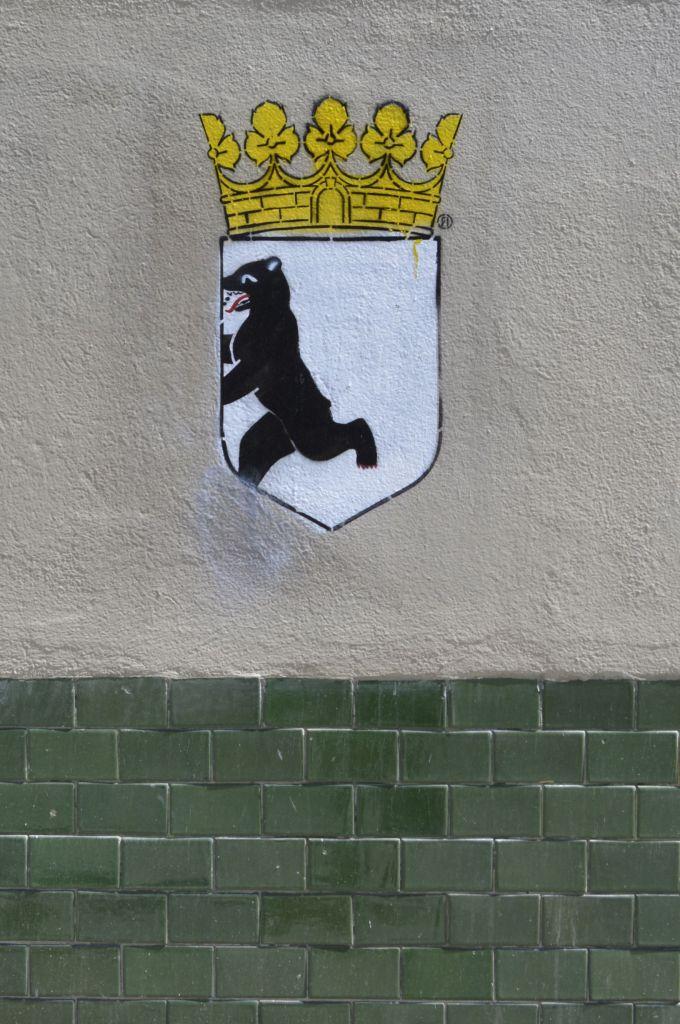 Berliner Bär Stencil