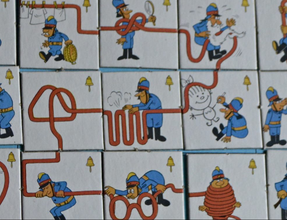 vintage fun with Ran GDR Board Game
