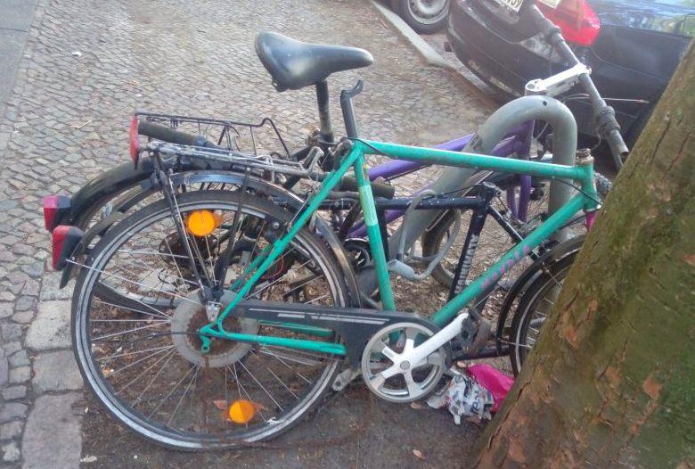 Es war einmal ein Fahrrad - Stilleben aus Berlin  bekitschig.blog