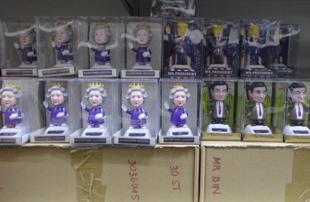 Asian Center Berlin Lichtenberg - großer Asia Markt  travel kitschy with bekitschig.blog The Queen, Mr Bean and Doanld Trump