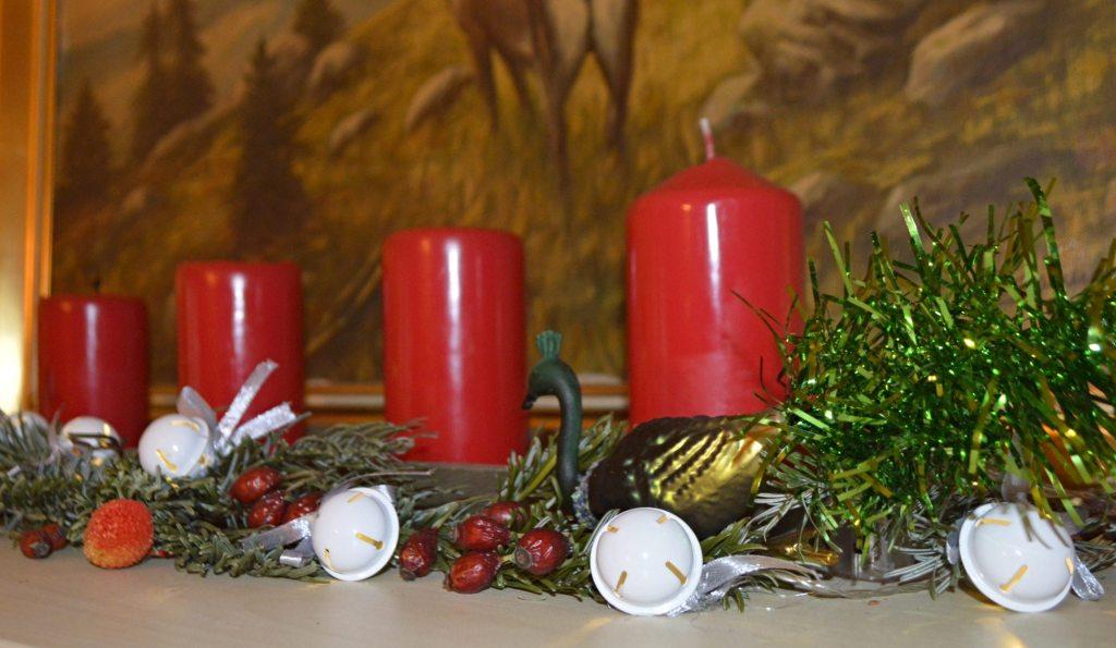 Season greetings  Adventskranz bekitschig blog