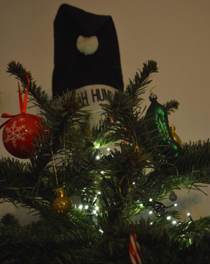 Bah Humbug Tree Topper Weihnachtsbaum Spitze Mütze  bekitschig.blog