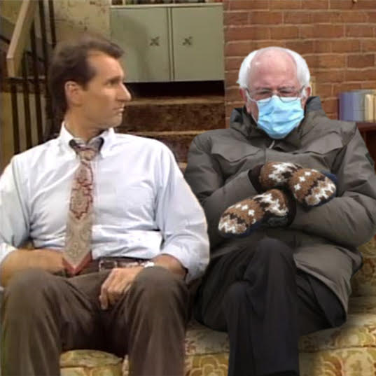 Bernies Mittes bekitschig blog Al Bundy version