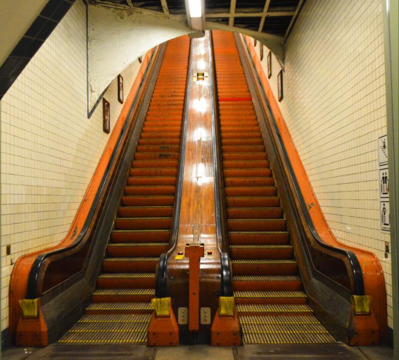 St. Anna's Tunnel Antwerp Belgium kitschy travels with be kitschig blog