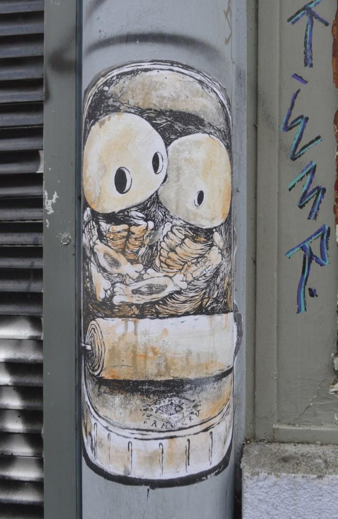 street art postcards from Berlin #21 bekitschig.blog - Sam Crew