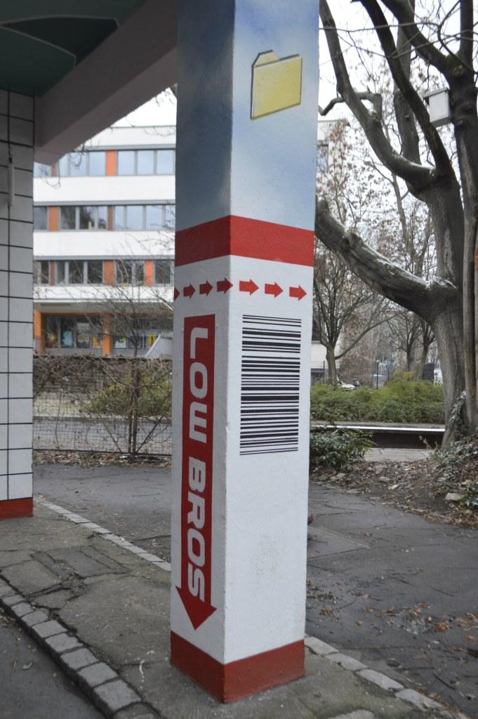 Chewing gum ad? Anyone? Retro meets Urban Art at FIT - bekitschig blog Berlin