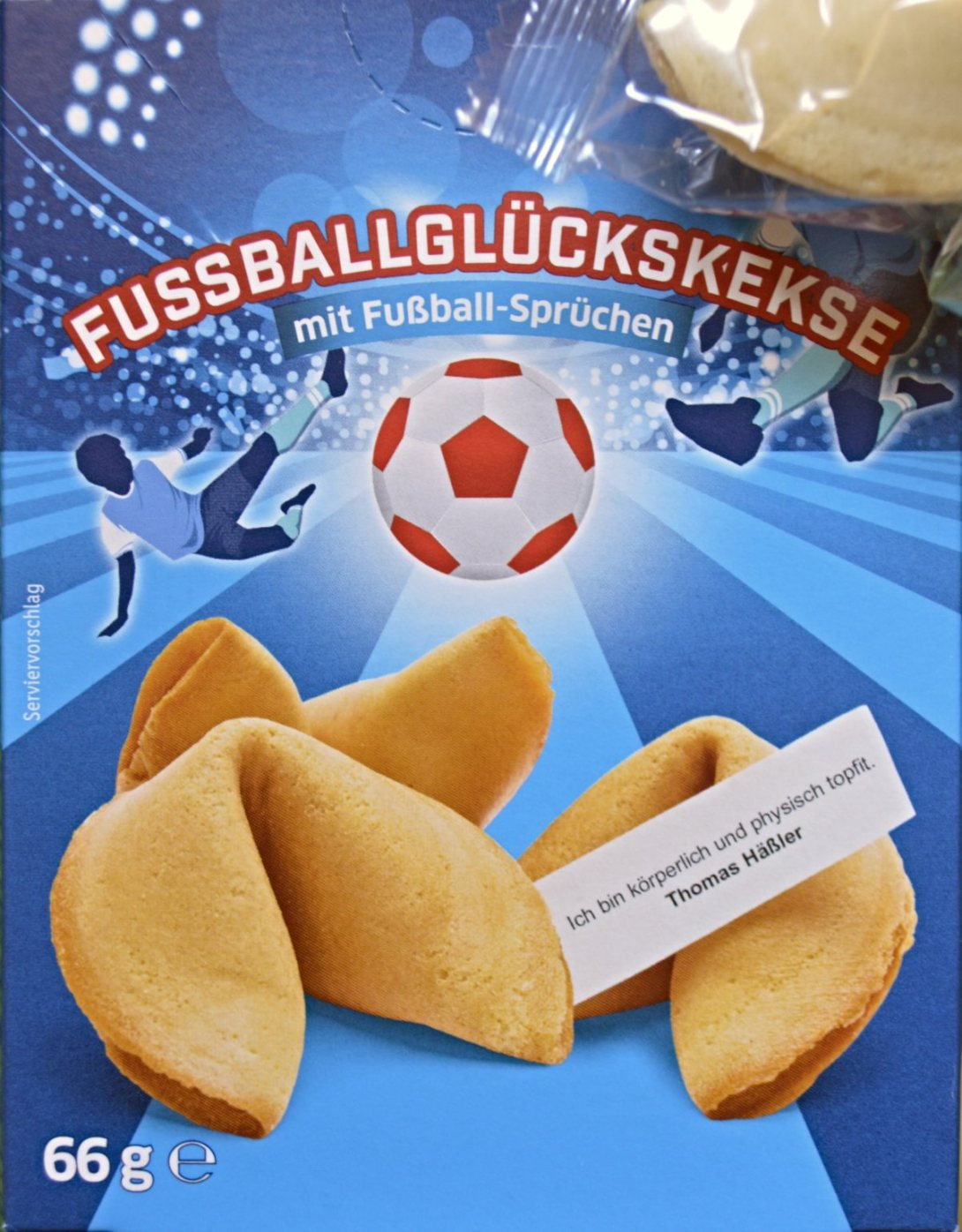Soccer Fortune cookies