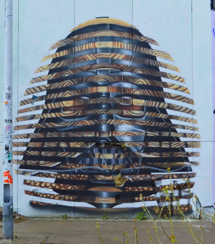 Darth Vader mural Teufelsberg Berlin  be kitschig blog