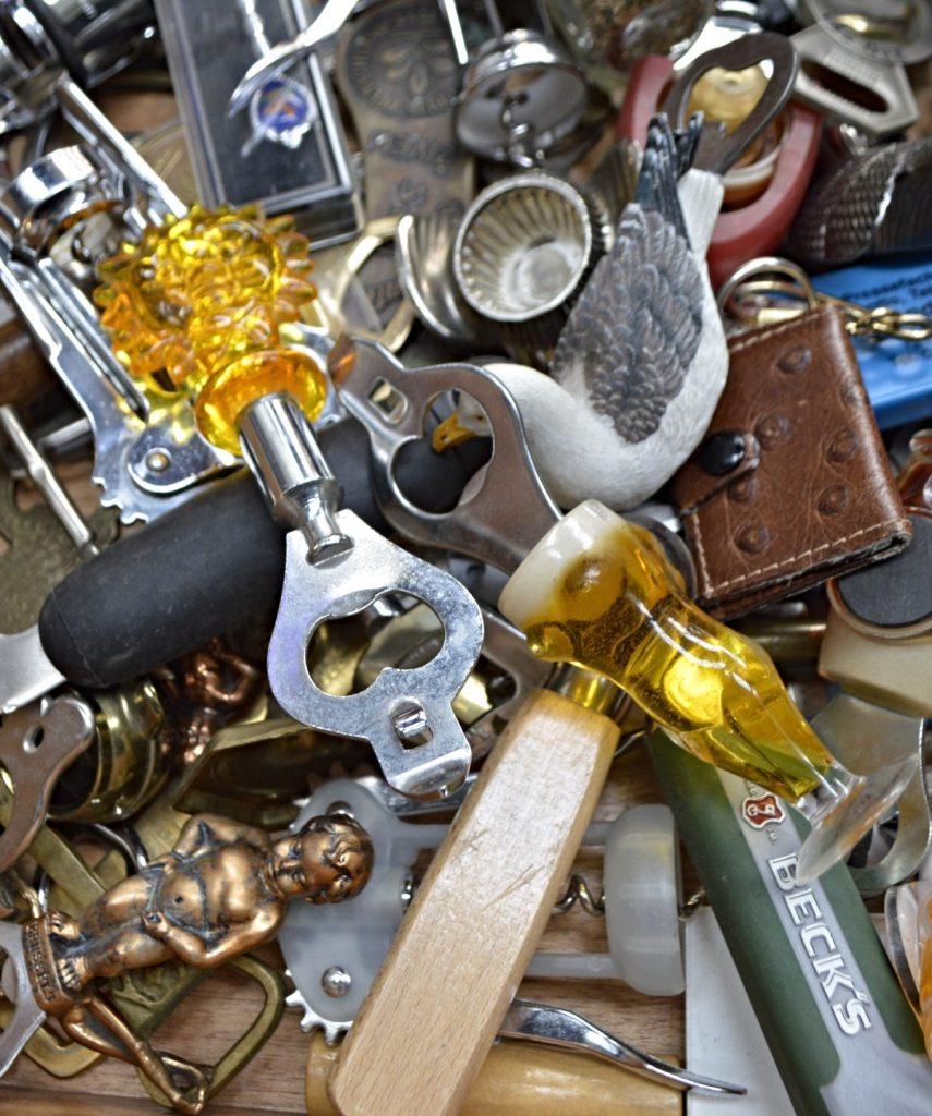 retro Flaschenöffner - vintage bottle openers