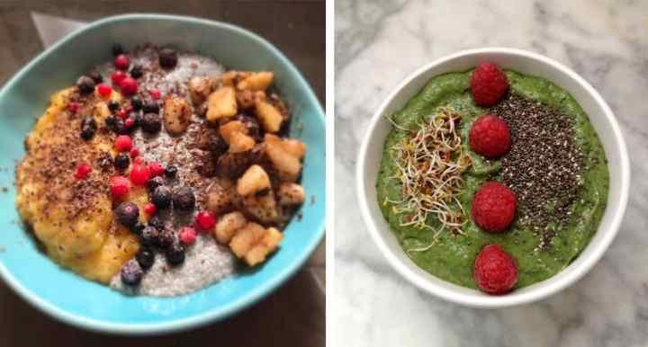 smoothie bowl sanos