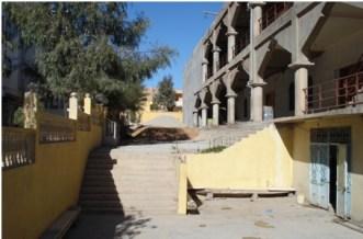 Mosquée Mouadh bin-Djebel en construction