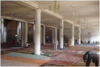 مسجد معاذ بن جبل في طور الإنجاز 6