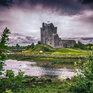 Dunguaire Castle, Kinvara, Ireland.