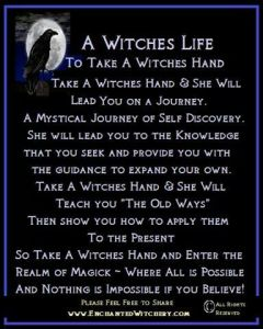 Magick Wicca Witch Witchcraft: A #Witch's Life. ✯ Visit lifespiritssocietyofmagick.com for ...