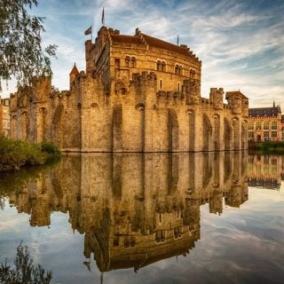 Gravensteen is a medieval castle in the Belgian city of Ghent.