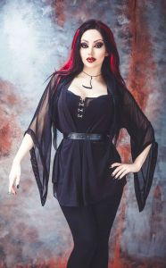 Model/MUA: Dani Divine Clothes: Necessary Evil / Kate's Clothing Photo: Vapour Trail Photography ...
