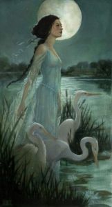 """The Marsh Kings Daughter"" Art by Kimberly Kincaid – From The Hans Christian A ..."