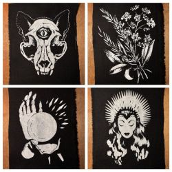 Witchy Mini Patches Collection
