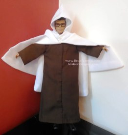 Miniature Replica of Male Algerian outfit- Burnous traditional kabyle for men BY BELAFABRICA