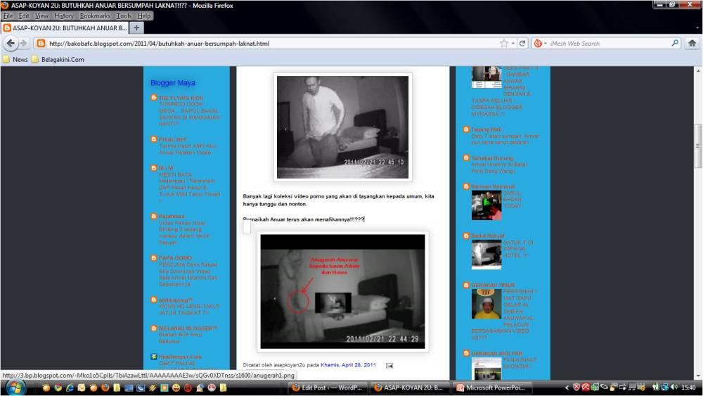 Asapkoyan2u Ajak Pembaca Blog Tonton Video Porno. (2/3)