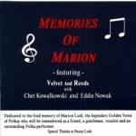 Memories of Marion Lush - Chet Kowalkowski Velvet Reed