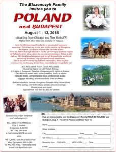 Travel to Poland & Budapest with Bel-Aire Enterprises