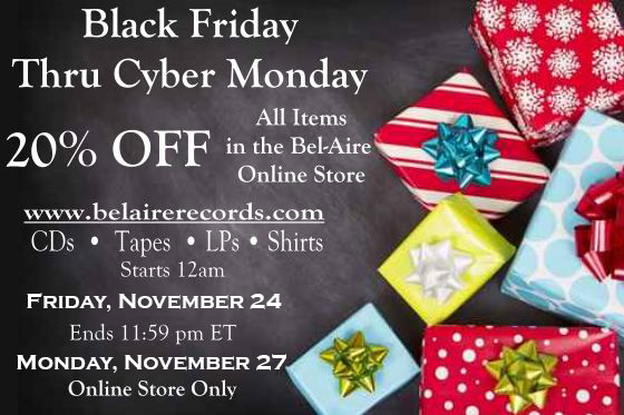 Black Friday 20% Off Sale
