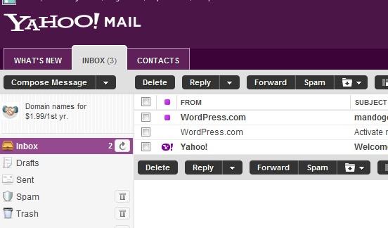 cara kerja email