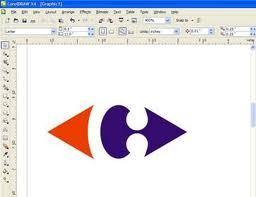 pembuatan logo dengan corel draw