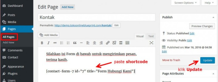 14-paste-shortcode-form