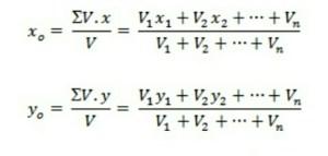 titik berat benda ruang atau volume