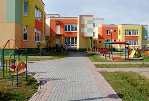 Строительство детсада № 1 в пос. Восточный
