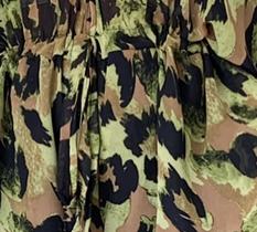 Tessy playsuit - green leopard