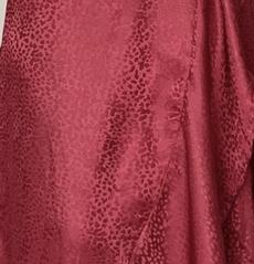 Binta Dress - Burgundy
